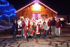 Georgetown Santas | 2015