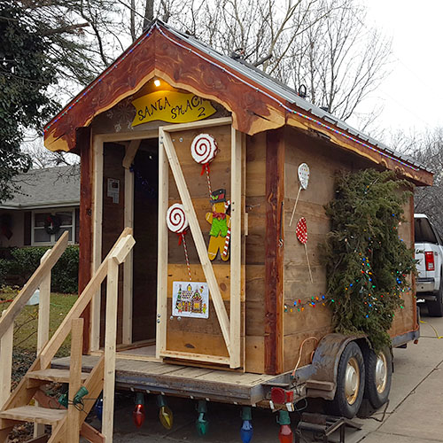 Santa Shack 2 at Santa's Village, Georgetown Santas