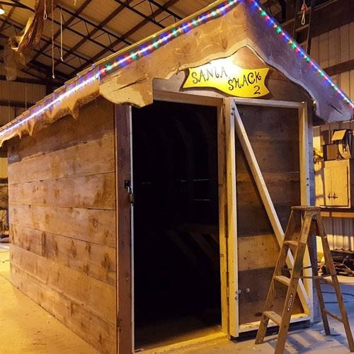 Santa Shack 2 Build