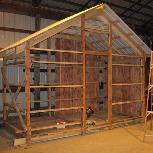 Santa Shack Build